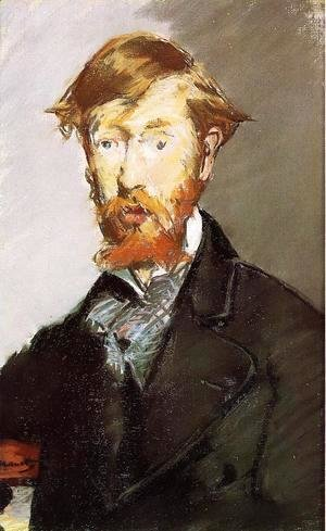 Edouard Manet - Portrait Of George Moore