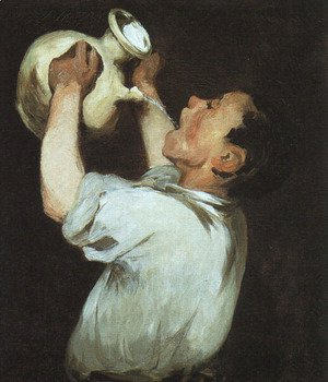 Edouard Manet - Boy with a Pitcher  1862