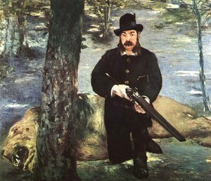 Edouard Manet - Pertuiset, Lion Hunter  1881