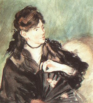 Portrait of Berthe Morisot  1873