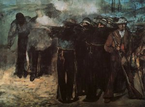 "Edouard Manet - Study for ""Execution of the Emperor Maximilian"" 1867"