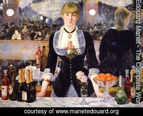 Edouard Manet - The Bar at the Folies Bergere 1882