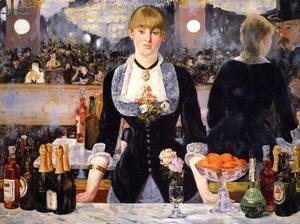 The Bar at the Folies Bergere 1882